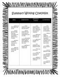 Summary Checklist