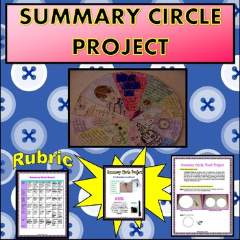 Summary Circle: Creative Book Project