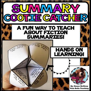 Summary Cootie Catcher