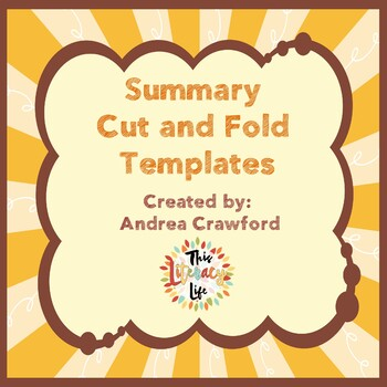 Summary Cut and Fold Templates