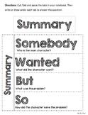 Summary Foldable: Interactive Notebook