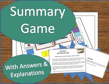 Summary Game