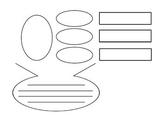 Summary Graphic Organizer Worksheet for Scaffolding
