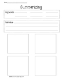 Summary Graphic Organizer for Any Story