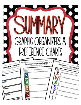 Summary Graphic Organizers for Guided Reading