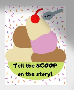 Summary Ice Cream Recording Sheet ( can be digital or print out)