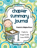 Summary Journal for Chapter Books