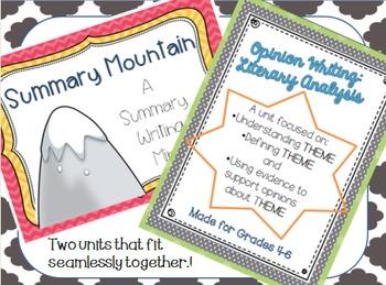Summary Mountain & Literary Analysis Bundle