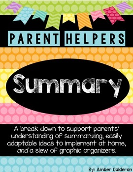 Summary [Parent Helpers]