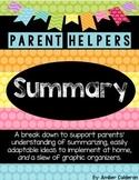 Summary [Parent Helpers]
