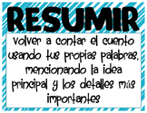 Summary Posters in Spanish