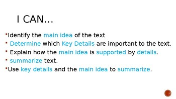 Summary Power Point and Practice