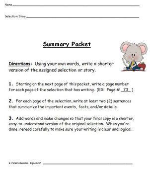 Summary Practice