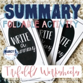 Summary Activities for 4th grade & 5th- Retelling story