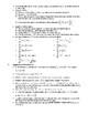 Summary Sheet of AP Calculus AB