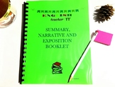 Summary, Short Story and Exposition Booklet