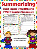 Summary Task Cards - Summarizing Task Cards -  Stories wit