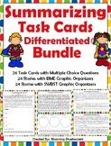 Summary Task Cards - Summarizing Task Cards - and Graphic