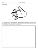 Summary Template - 5 Finger Writing