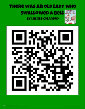 Summary - There Was An Old Lady Who Swallowed a Bell (with QR code)