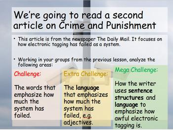 Summary Writing / Comparison Skills