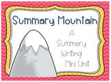 Summary Writing Mini Unit
