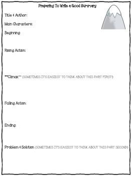 Summary Writing Outline