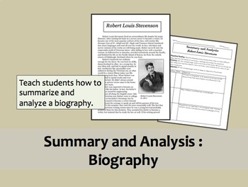 Summary and Analysis: Biography