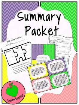 Summary and Retell Packet