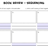Summary of Events - Sequencing Chart