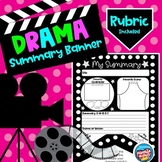 Summary Banner: Literary Elements for a Drama, Movie, or L
