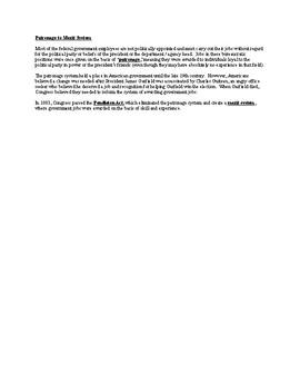 Summary of the Bureaucracy - AP United States Government & Politics