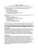 Summary vs. Analysis Handout - Senior ELA - Editable