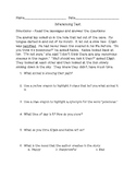 Summative Assessment For Inferencing