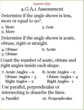 Summative Assessments 4th Grade