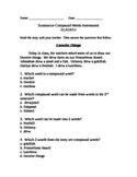 Summative Compound Words Assessment ELA1R3.e