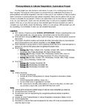 Summative Photosynthesis & Cellular Respiration Project
