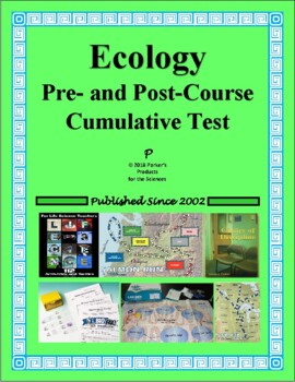 Summative Pre- and Post-Course Test for Field Ecology / Environmental Science