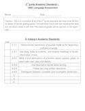Summative Test for language arts