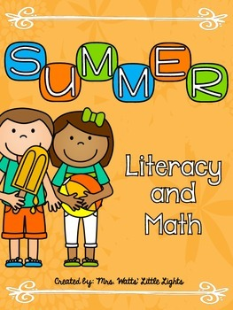 Summer Literacy and Math