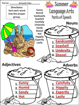 Summer Activities: Summer Language Arts Activity Packet