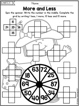 Summer 1st Grade Math Mega Review