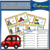 Summer 2 Digit By 2 Digit Multiplication Task Cards With R