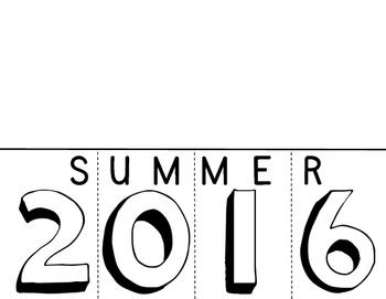 Summer 2016 flip book