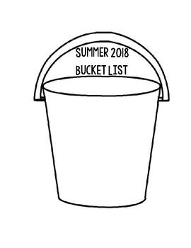 Summer 2018 Bucket List By Hello 3rd Grade Teachers Pay Teachers