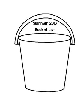 Summer 2018 Bucket List