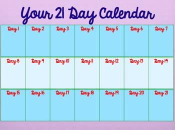 Summer 21 Day Challenge