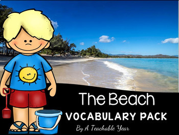 Summer- Vocabulary Pack