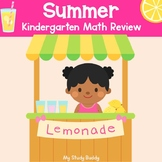 Summer Packet Math Review (Kindergarten Summer Review Packet, Summer Activities)