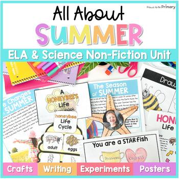 Summer Non-Fiction ELA & Science Unit